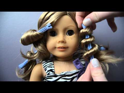 Four Different Ways To Curl Your AG Dolls Hair