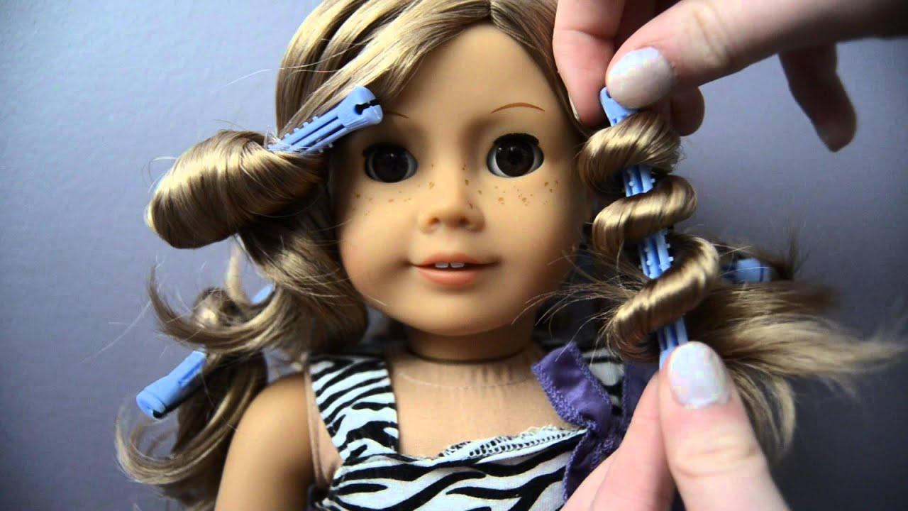 styles to do with hair four different ways to curl your ag dolls hair 8282