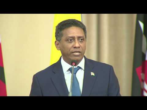 SEYCHELLES PRESIDENT H.E. DANNY FAURE STATE VISIT