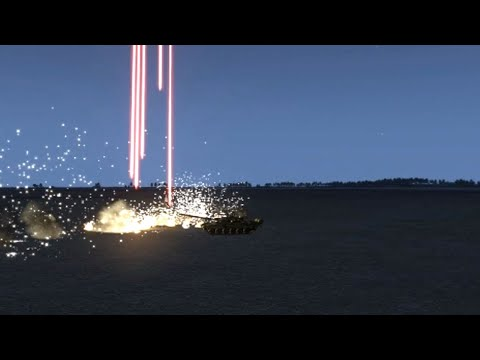 Tank 車両 Flight フライト JET ジェット Tracer 曳光 煙 Smoke