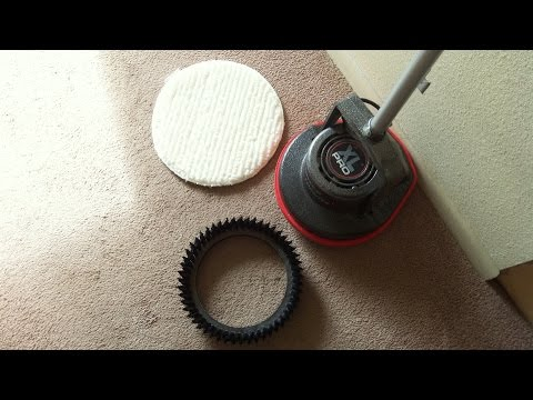 Carpet Cleaning The Easy Way With Oreck Orbiter.