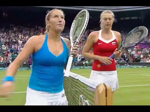 Maria Sharapova vs Shahar Peer 2012 London Highlights