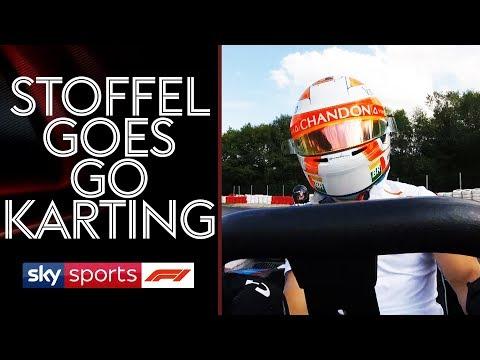 Stoffel Vandoorne goes go karting!