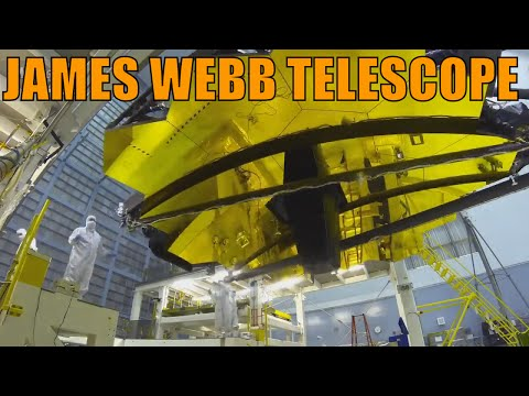 James Webb Telescope - Time Lapse Video Compilation