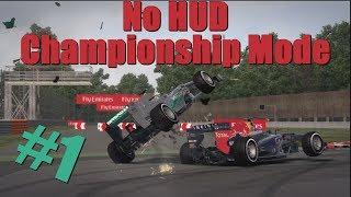 F1 2013 - No HUD Championship Mode #1 - BELGIUM (25% Legend IA)