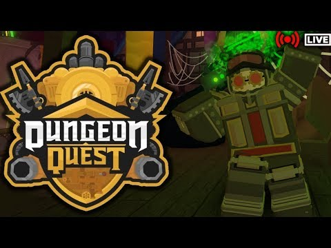 🌲#TEAMTREES🌲|⚔️DUNGEON QUEST LIVE⚔️|⚙️STEAMPUNK SEWERS⚙️|🔴ROBLOX LIVE🔴