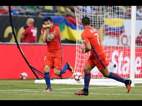 Chile 2 - 0 Colombia | Copa América Centenario 2016 | Claudio Palma