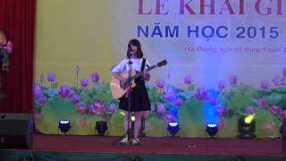 DIVA Vocal Group   Em Yêu Trường Em (Acoustic cover) - Vân Veo