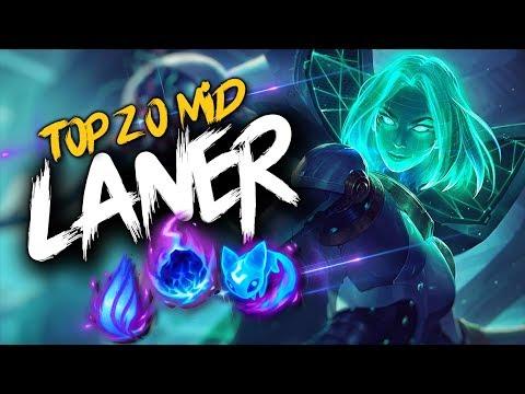 Top 20 MID LANER Plays #20 | League Of Legends