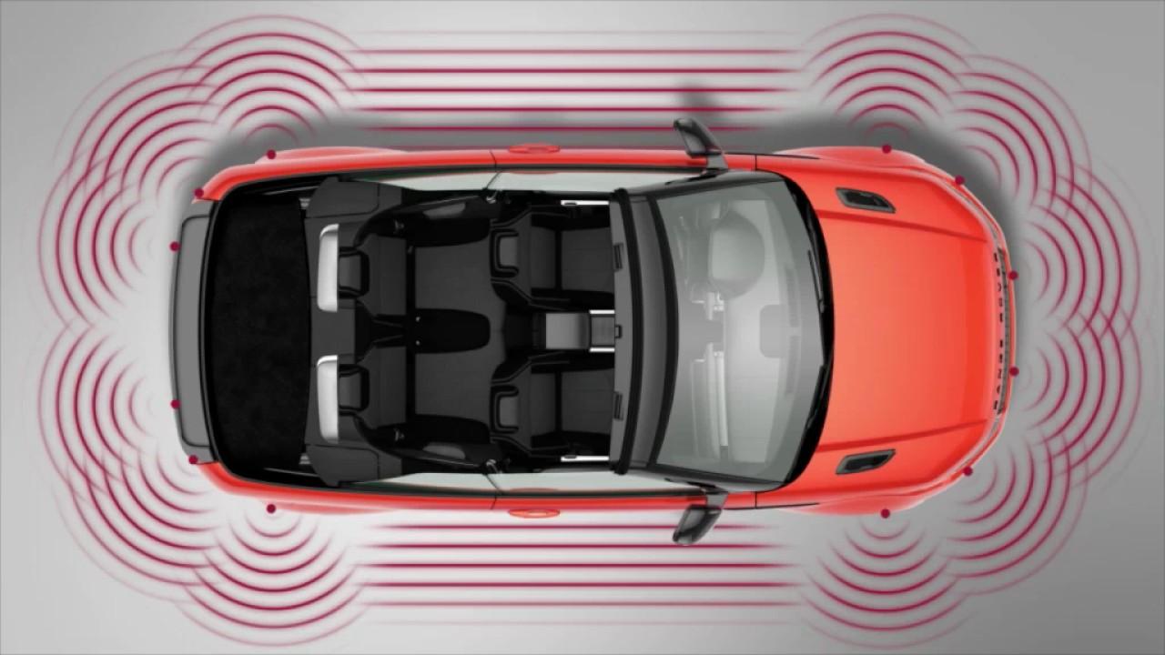 Range Rover Evoque >> 2017 Range Rover Evoque | Park Assist | Land Rover USA ...