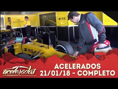 Acelerados (21/01/18) | Completo
