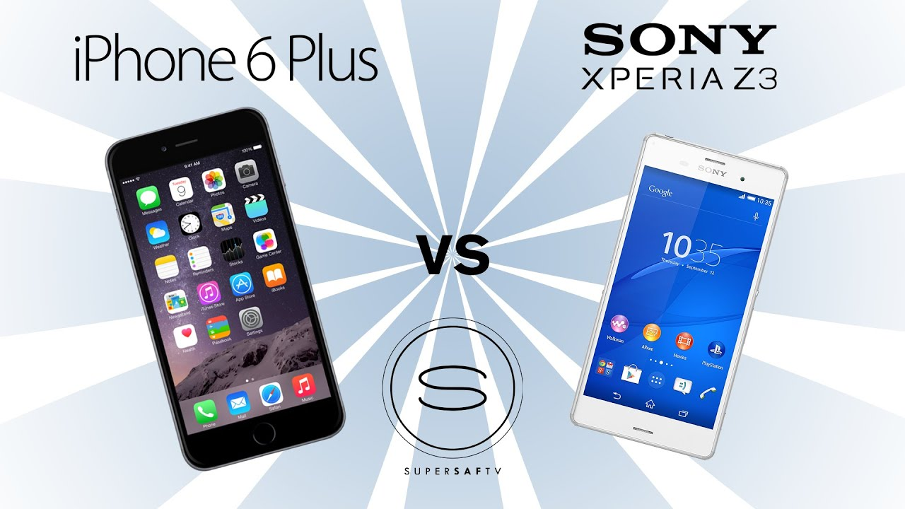 s4 vs iphone 6 Plus vs xperia z3