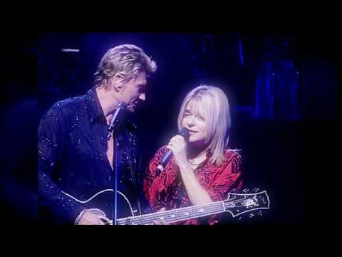 Johnny Hallyday et France Gall - Quelque chose de Tennessee Olympia 2000 HD LPR remastering