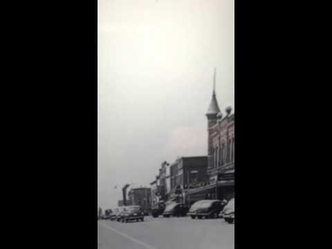 downtown dalton ga about 1950 youtube