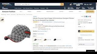 9bf62ecdb7949 Gucci cap gekauft bei Amazon (Fake)   Link in der Beschreibung