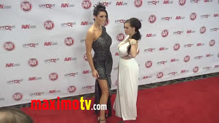 Jenna Presley and Dylan Ryder at 2012 AVN AWARDS Show Red Carpet Arrivals