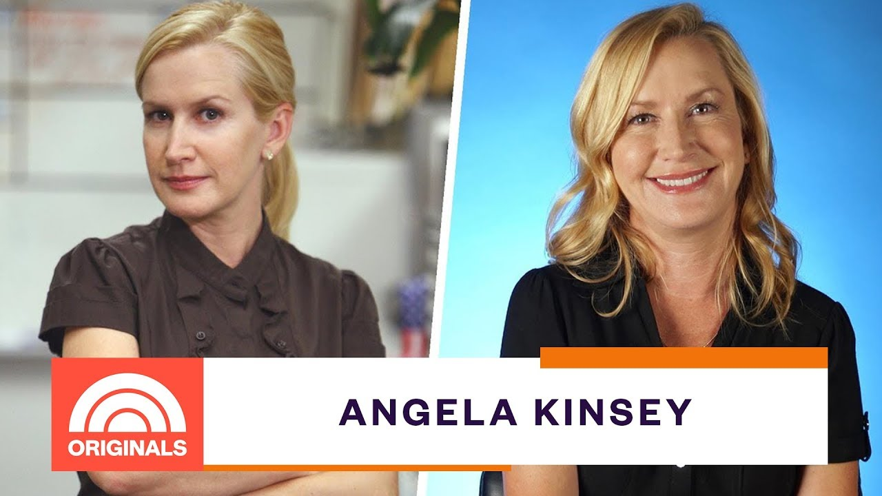 The Office Actress Angela Kinsey Remembers Auditioning For Pam Today Originals Youtube