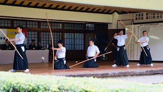 天皇盃 2019 All Japan Kyudo Championship 2019年 全日本弓道選手権大会 決勝進出者(1組・4立目)