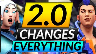 NEW PATCH 2.0 Chaฑges EVERYTHING - NERFS, BUFFS, MAPS in Episode 2 - Valorant Update Guide