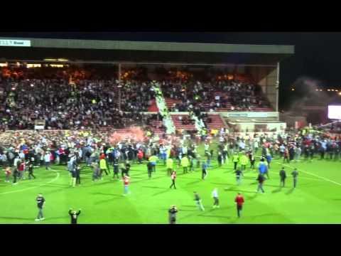 Post Match - Swindon Town F.C. vs Sheffield United F.C. 11.05.15