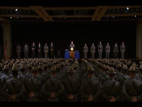 New York State Police Basic School Graduation