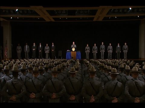 Repeat New York State Police Basic School Graduation by