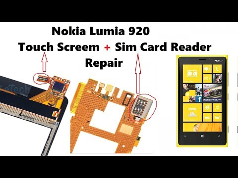 Nokia Lumia 920 Sim Card reader Replacement with Low Heat 240C HD