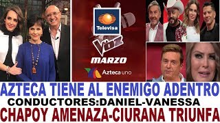 LA VOZ DANIEL BISOGNO conductor PATI CHAPOY Vs ALBERTO CIURANA   / ARGUENDE TV