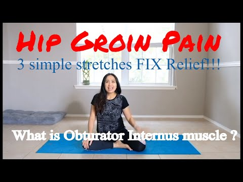 Top 3 Simple Stretches Obturator Internus For Hip Groin Pain Relief