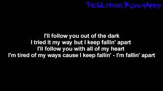 Papa Roach - Falling Apart [Lyrics on screen] HD