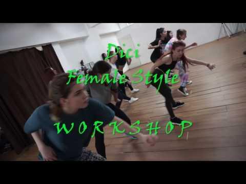 Revolution Dance Studio: Kalado - Bounce by Dici | Female Style Workshop (2017)
