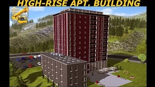 Construction Simulator 15 | Building a High-Rise Apartment Building