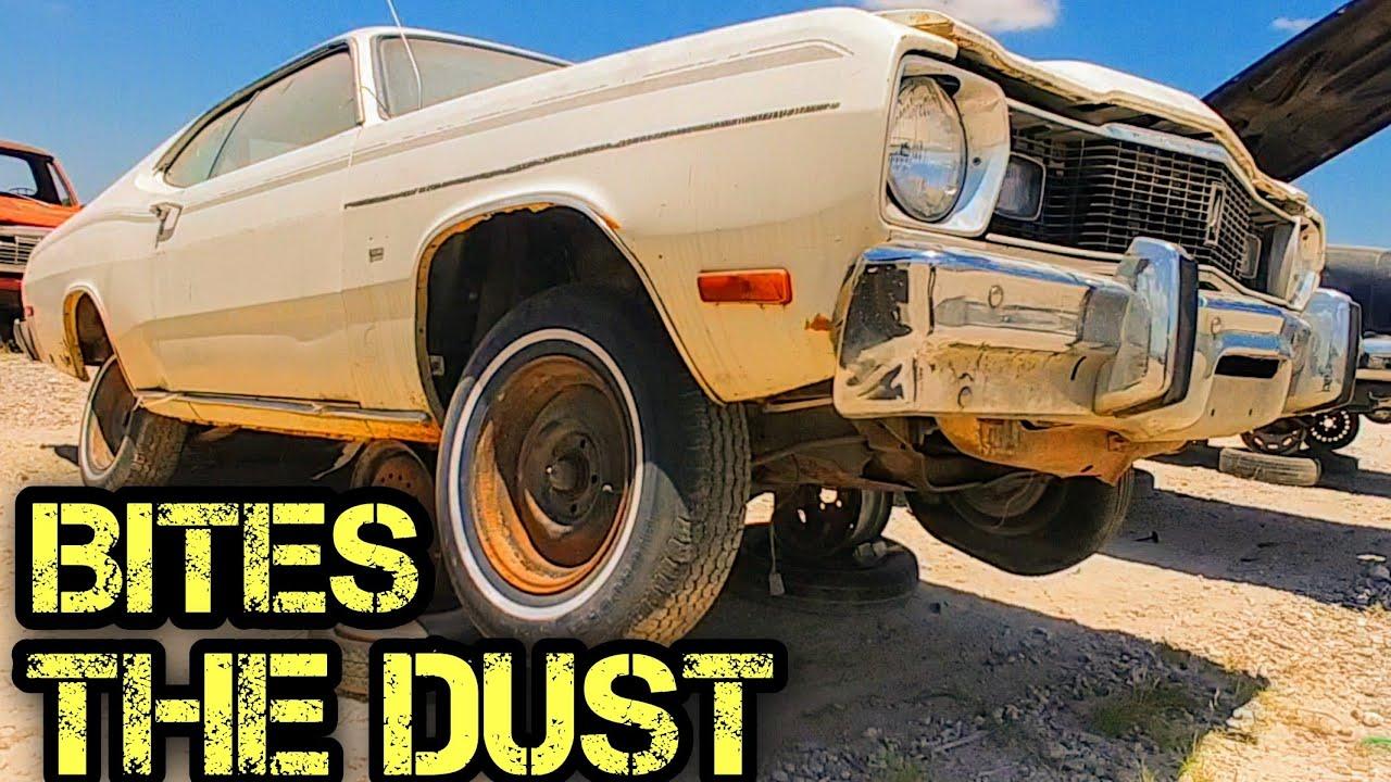 1975 Plymouth Duster Junkyard Find