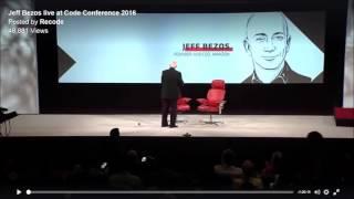 Jeff Bezos on OTT, Amazon Studios and Prime