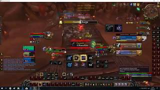 WOW MM hunter arena WLS VS Beast Cleave (7.2.5 patch)
