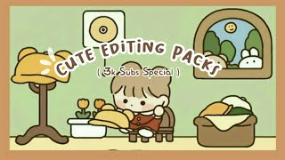 Cute Editing Packs   Free Loading GIFs   Pop up Notes   Animated Background   Cute Fonts and more screenshot 4