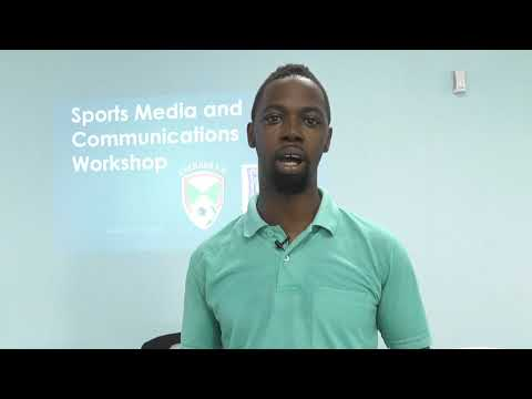 Media and Communications Workshop in Grenada - Testimonial 1