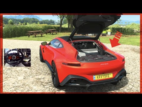 Forza Horizon 4 GoPro NEW 2018 Aston Martin Vantage (They Scanned His Bags!) | SLAPTrain thumbnail