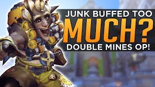 Overwatch: Was Junkrat Buffed TOO MUCH?