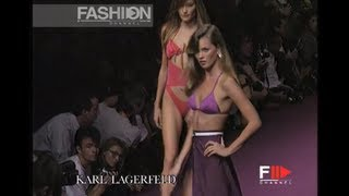 Kate Moss, Carla Bruni, Eva Herzigova in Vintage Swimwear 1995 by Fashion Channel