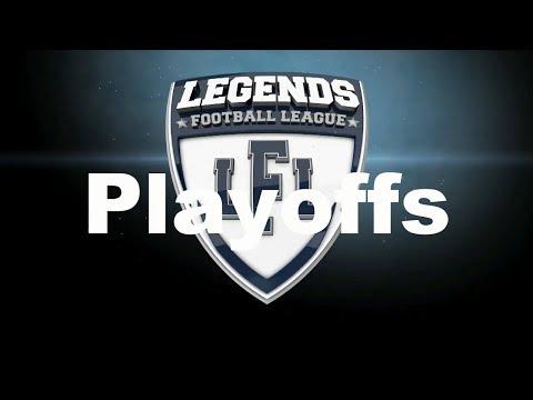 LFL 2019 Playoffs - Legends Football League - Los Angeles Temptation Vs Austin Acoustic