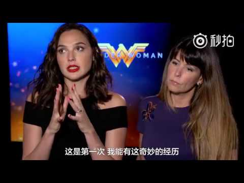 Gal Gadot and Patty Jenkins Answered Chinese weibo users