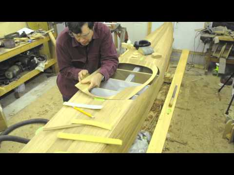 Making a Strip Built Sea Kayak
