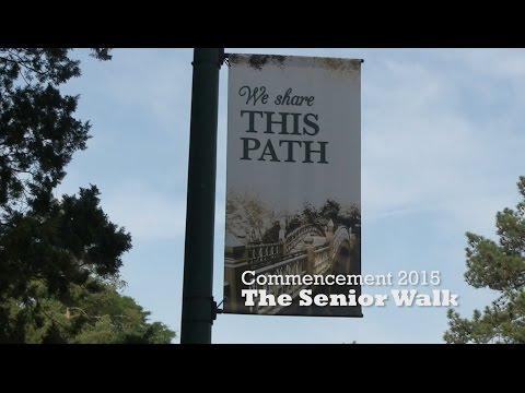 Commencement 2015: The Senior Walk