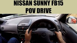 Nissan Sunny FB15 POV Drive