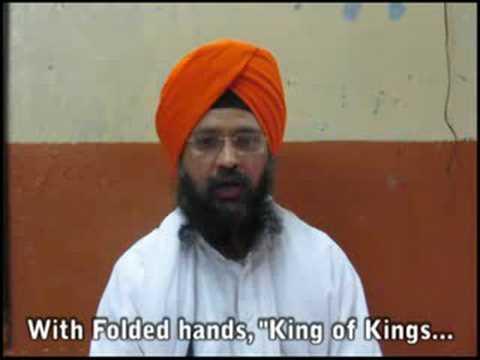 Jethadar Invitation to Hazur Sahib