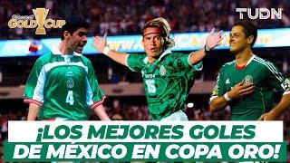 ¡Míticos golazos! Los mejores goles de México en Copa Oro | TUDN