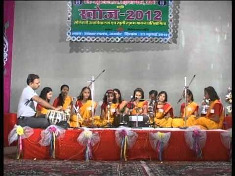 Patriotic Group Song - KHOJ 2012 - Kala Ankur Ajmer