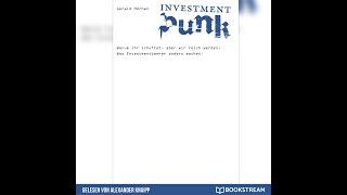 Investment Punk - Gerald Hörhan (Komplettes Hörbuch)