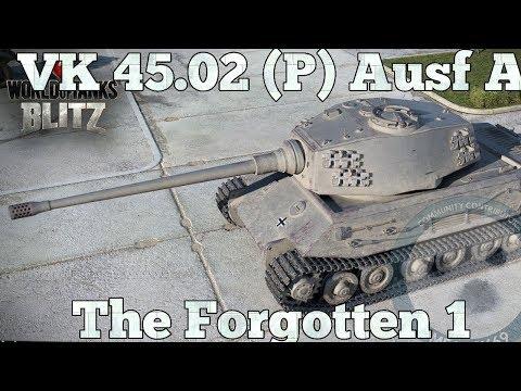 WoT Blitz: VK 45 02(P) Ausf A. The forgotten one